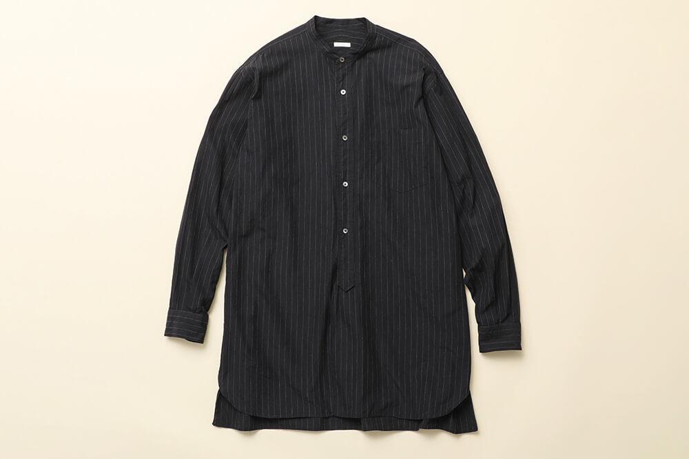 COMOLI<br>Band Collar Shirts