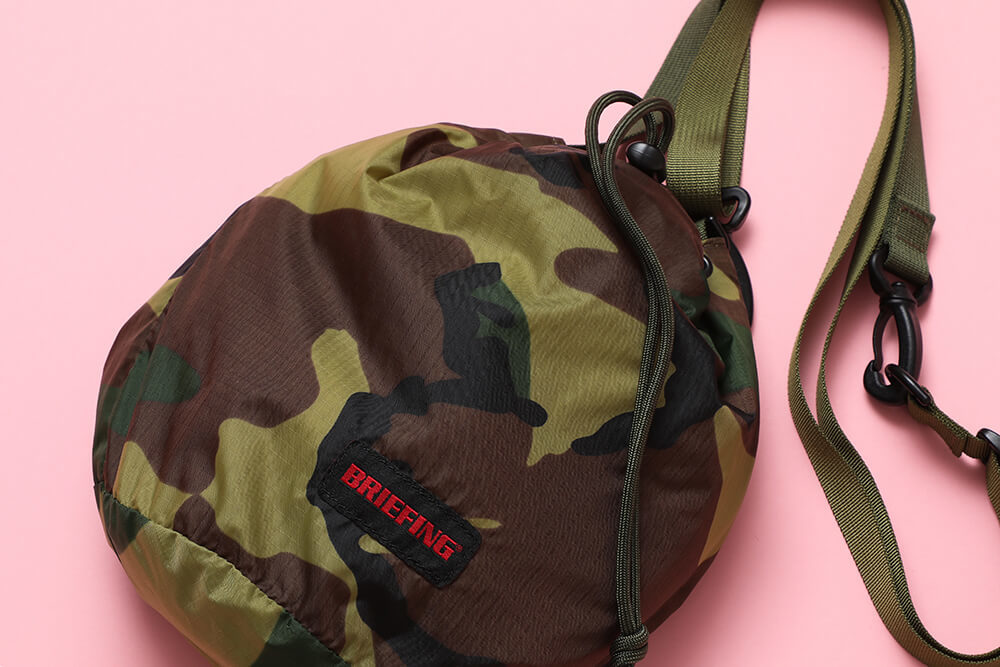 BRIEFING<br>2Way Drawstring Pouch