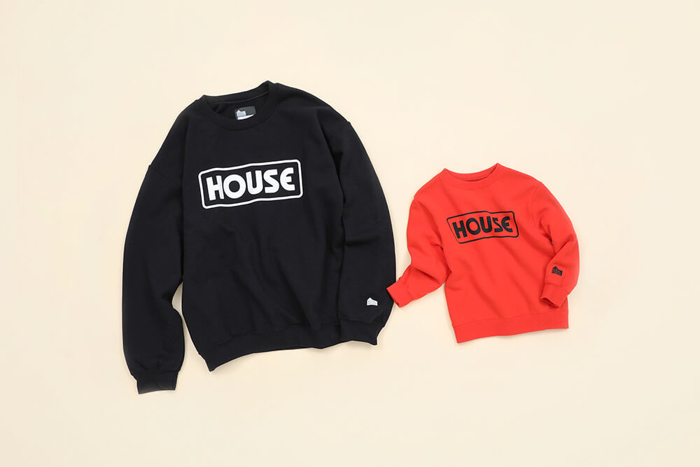 IN THE HOUSE<br>Logo Sweat Shirts