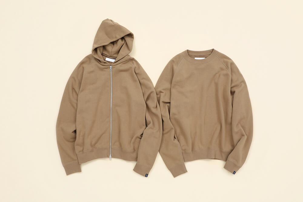 Graphpaper × LOOPWHEELER<br>Sweat Collection