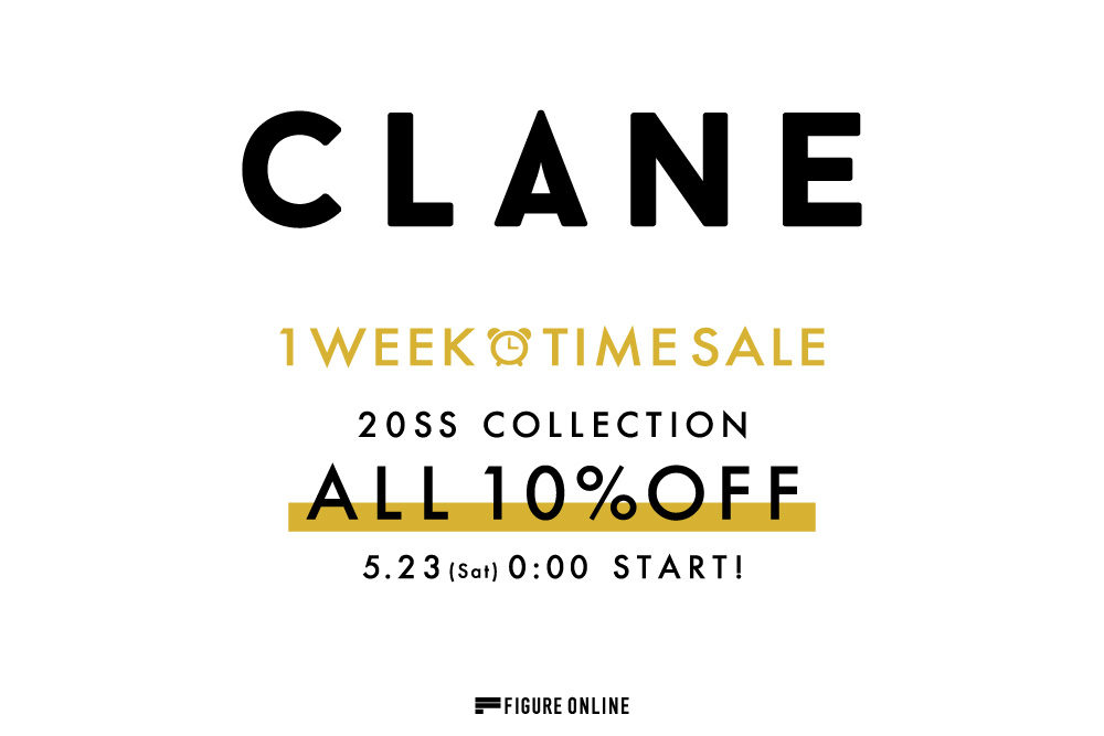 CLANE 2020SS<br>TIME SALE