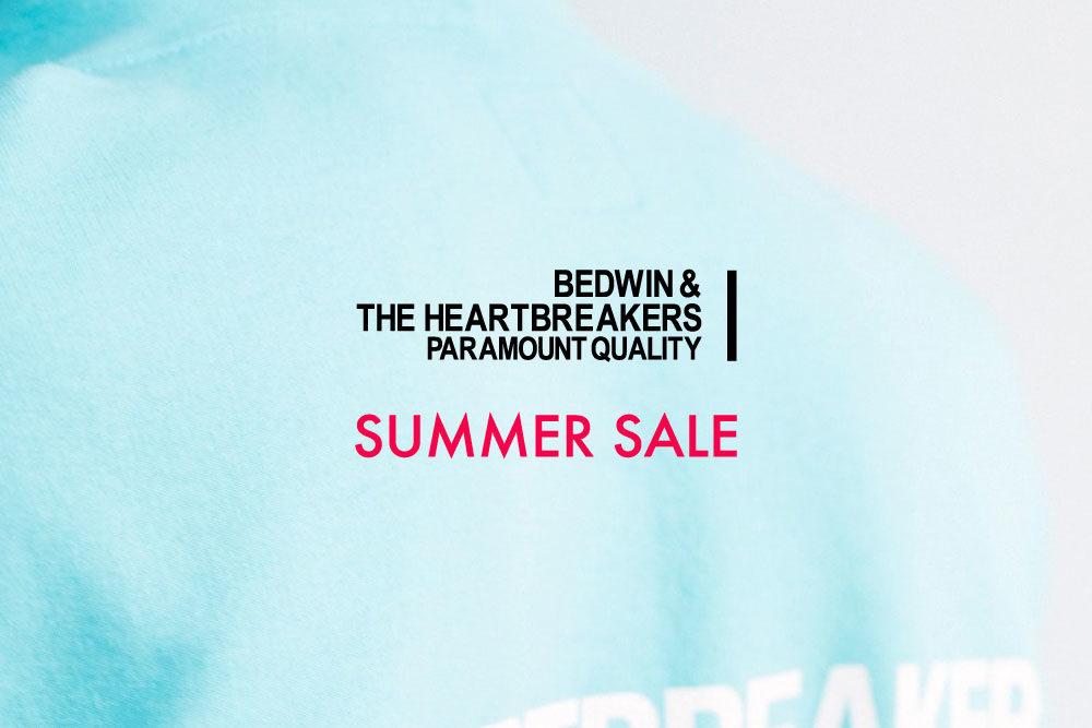 BEDWIN & THE HEARTBREAKERS<br>SUMMER SALE