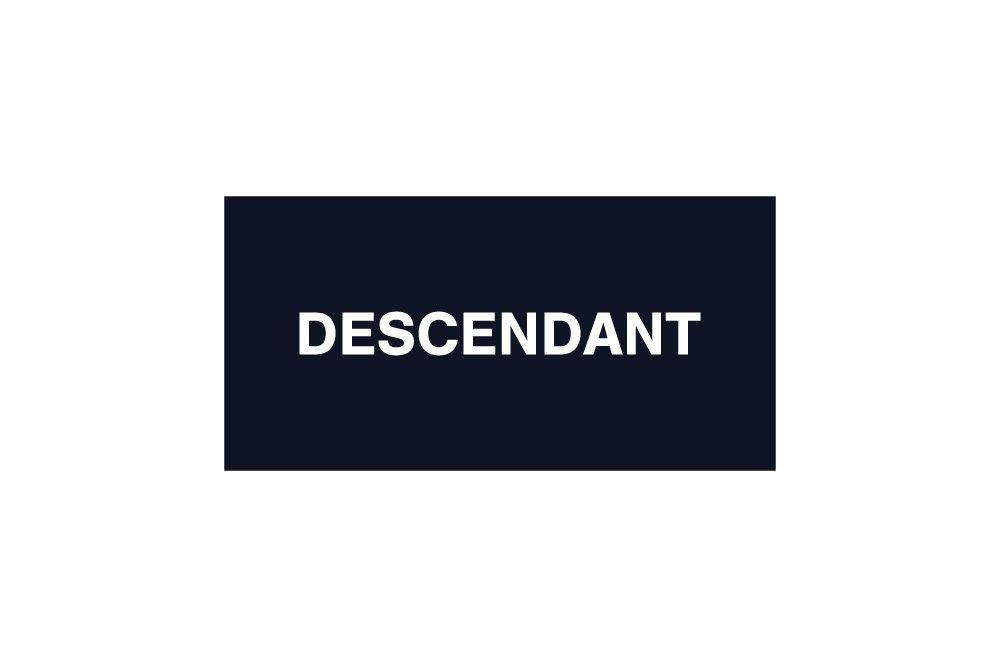 DESCENDANT<br>2020 A/W COLLECTION